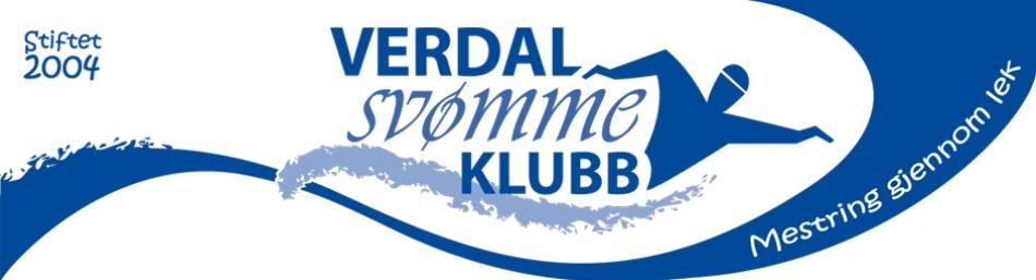 Verdal Svømmeklubb logo